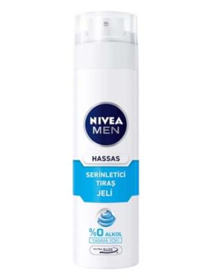 NIVEA FOR MEN TRAS JELI HASSAS SERİNLETİCİ 200ML