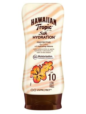 H.TROPIC SILK HYDRA.PRO.LOT.SPF10 180ML