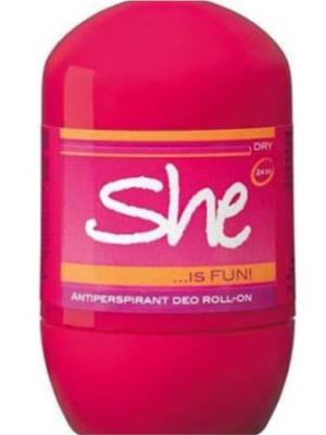 SHE IS ROLL-ON FUN 40ML